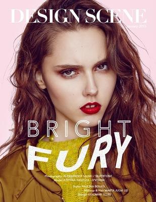 Paulina Bolko Stylist - Bright Fury for Design Scene