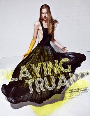 Paulina Bolko Stylist - Playing Truant for Design Scene