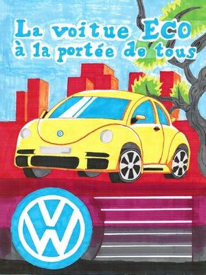 Adao Graphisme - La new beetle Affiche Pub Année 80