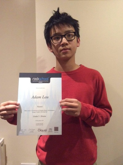 Pro Play Music - Adam Lau Age: 14 Skill Level: Grade 5