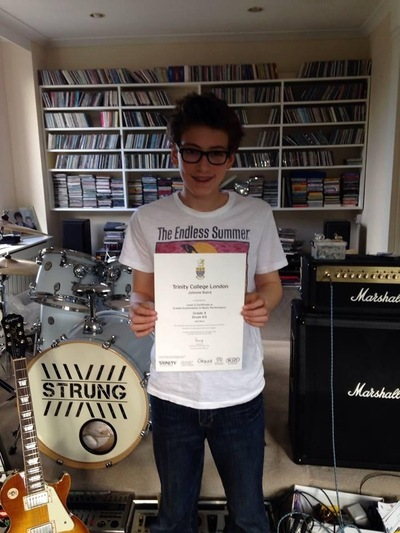 Pro Play Music - Johnnie Baird Age: 14 Skill Level: Grade 8 Grades Achieved: 1-6