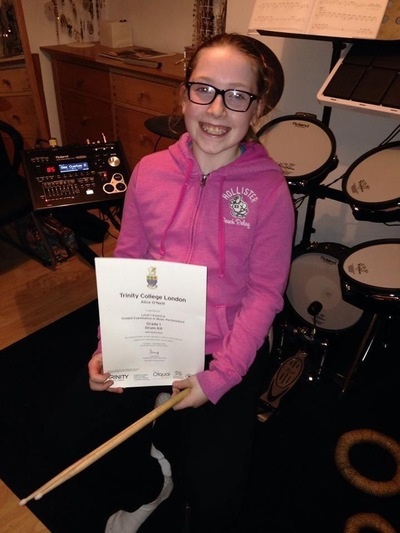 Pro Play Music - Alice ONeill Age: 10 Skill Level: Grade 5 Grades Achieved: 1,2