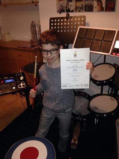 Pro Play Music - Jacob Greenfield Age: 9 Skill level: Grade 4 Grades Achieved: Grades 1 and 2