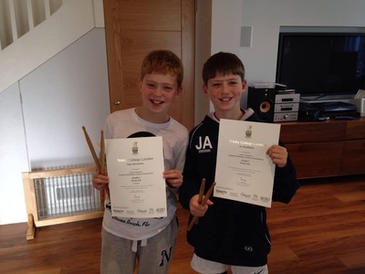 Pro Play Music - Twins Sam and Joe Abrahams Age: 10 Skill Level: Grade 4 Grades Achieved: Grades 1 and 2