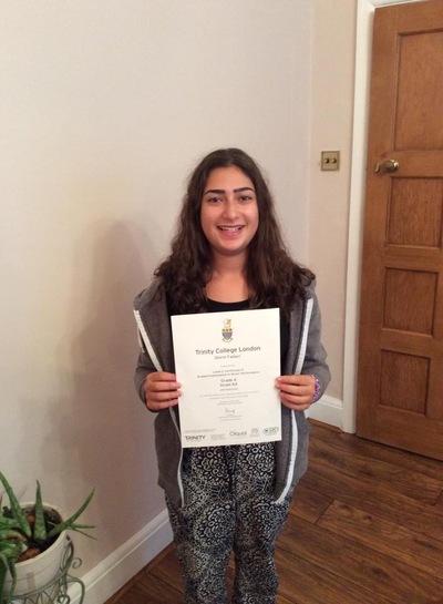 Pro Play Music - Shirin Fadavi Age: 13 Grades achieved: 1-4