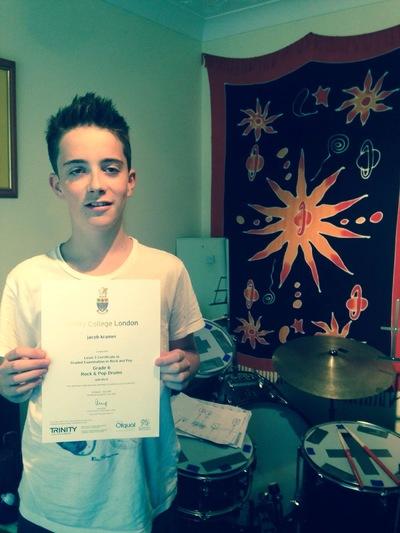 Pro Play Music - Jake Kramer Age:14 Grade 6 merit