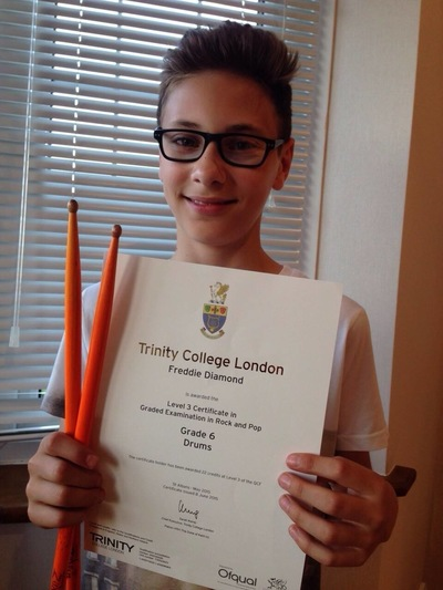Pro Play Music - Freddie Diamond Age: 13 Grade 6