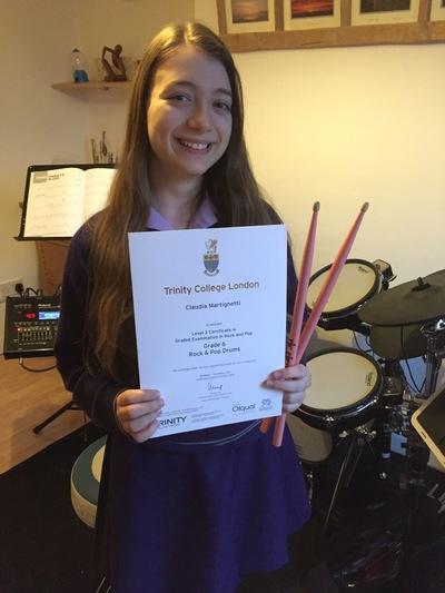 Pro Play Music - Claudia Martignetti Age: 14 Grade 6 and grade 8