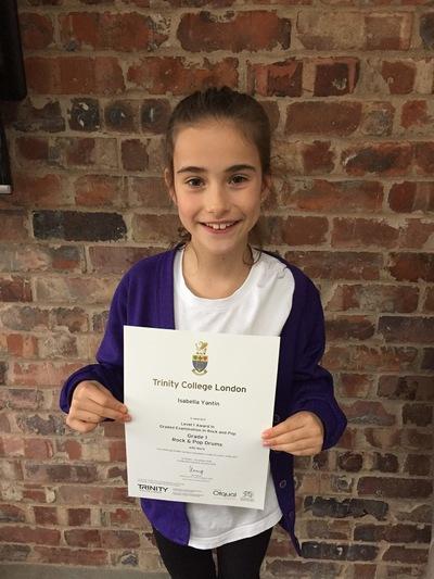 Pro Play Music - Issy Yantin Age: 9 Grade 1