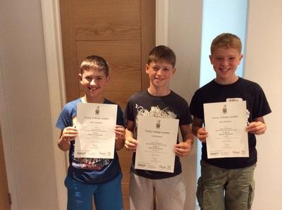 Pro Play Music - Harry Abrahams Age: 10 Grade: 3 Joe and Sam Abrahams Age: 12 Grade 6