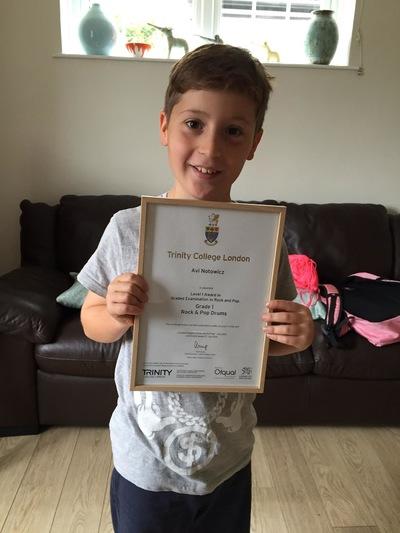 Pro Play Music - Avi Notowicz Age: 11 Grade 2