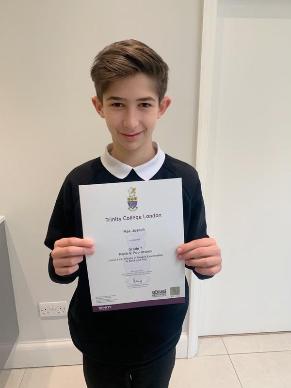 Pro Play Music - Max Joseph age 11 Skill level grade 7