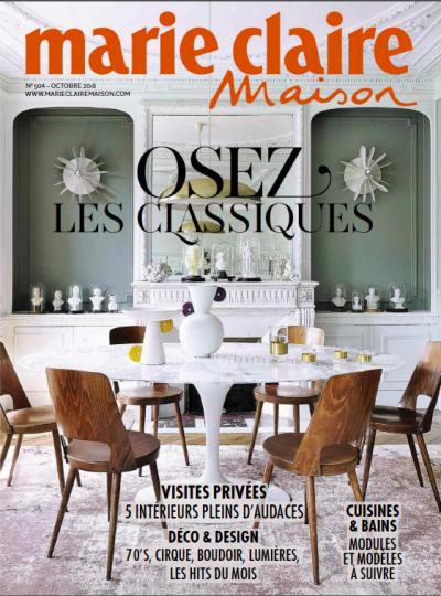 Les Filles dIntérieur - Marie-Claire Maison Octobre 2018