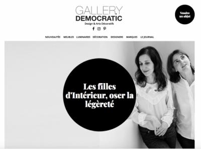 Les Filles dIntérieur - Gallery Democratic 2017