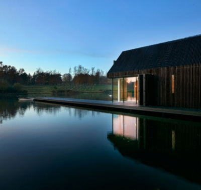 Merrett Houmøller Architects - The Boathouse