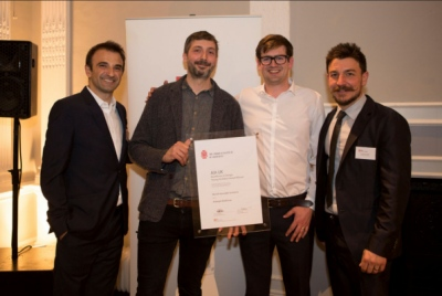 Merrett Houmøller Architects - AIA UK Young Architect Award