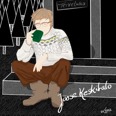 Lorem Ypsum - CD Cover Joose Keskitalo (Ai) 2015