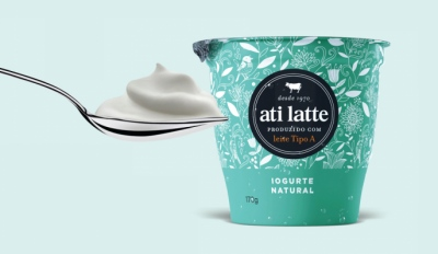 polessi.com - PACKAGING / AD | ATILATTE YOGURT