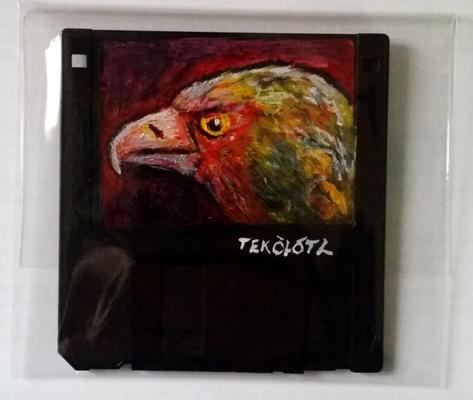 Tekolotl - ArtWork - Águila - Cuautli