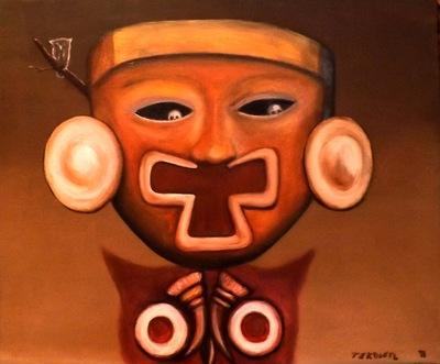 Tekolotl - ArtWork - Mascara del mictlan