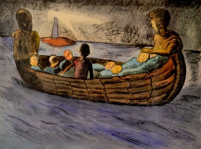 Tekolotl - ArtWork - La barca de la esperanza