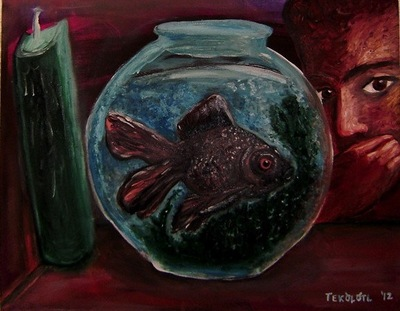 Tekolotl - ArtWork - Guliberto - El pez (Black Moor)