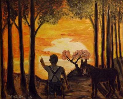 Tekolotl - ArtWork - Papá papá, que se quema el río.
