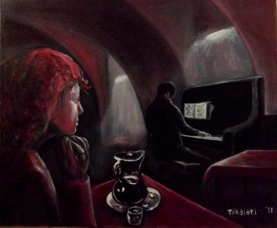 Tekolotl - ArtWork - El pianista de cabaret
