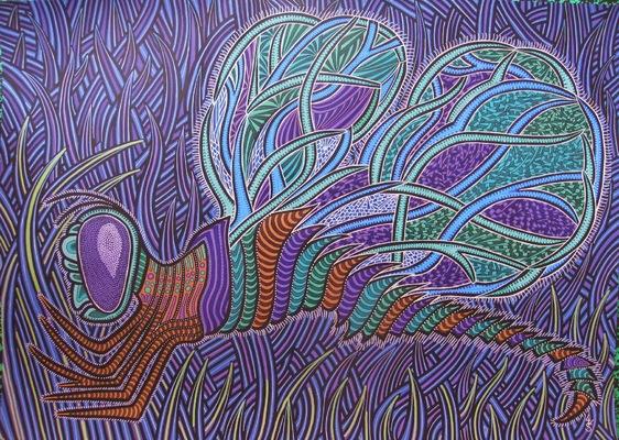 LyubaS Art - Odonata 70x50 cm