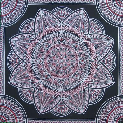 LyubaS Art - Rosette 50x50 cm