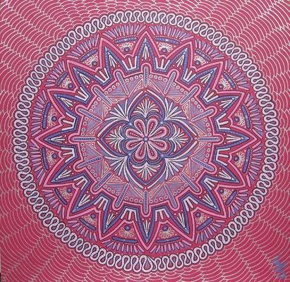LyubaS Art - Love Mandala 30x30 cm