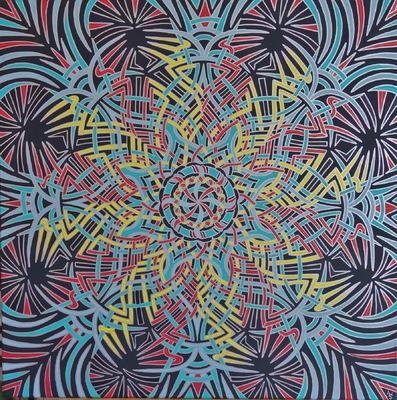 LyubaS Art - Awakening 80 x 80 cm