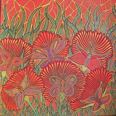LyubaS Art - Alen Mak 50x50 cm