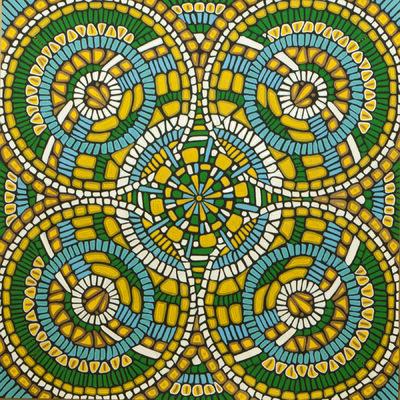 LyubaS Art - Mosaïc Mandala 30x30 cm