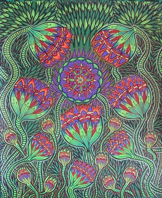 LyubaS Art - Jaba 50x60 cm