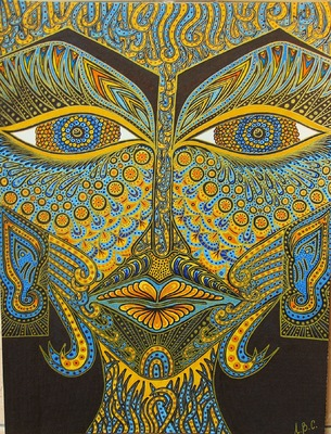 LyubaS Art - Beautiful Stranger 24x32 cm