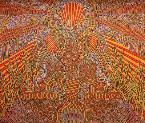 LyubaS Art - Kuker 60x50 cm