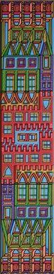 LyubaS Art - Forefront to Heaven 20 x 100 cm