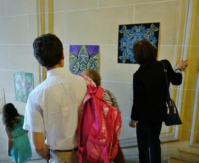 LyubaS Art - 13/06/2015 Exposition Les mystères de printemps à lAmbassade de Bulgarie Paris, France ////// Photos Expo