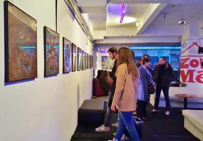 LyubaS Art - 15/01 - 15/02/2016 Exposition LyubaS à la Zonmé Nice, France ///// Photos