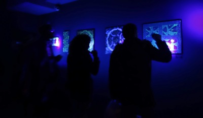 LyubaS Art - 06/03 - 03/04/2016 Exposition/ Expérience Chambre Noire (Le Cercle, Nice, France) ///// Photos