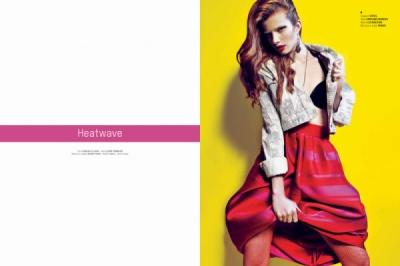 Elodie Fiuza - heat wave