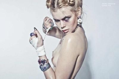 Elodie Fiuza - the last fight