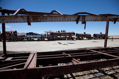Diegophoto - Cementerio de trenes - Uyuni
