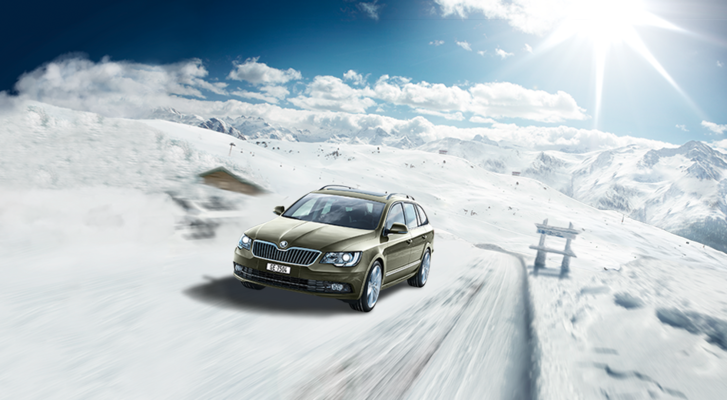 Art of Simon Rozner - Matte Painting for Skoda
