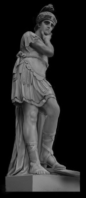 Art of Simon Rozner - Statue Study