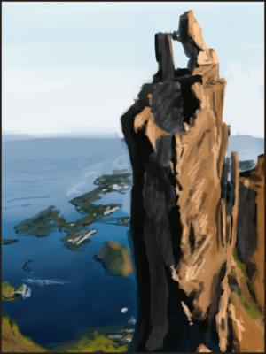 Art of Simon Rozner - Svolvar, Nordland Fylke, Norway 06-2015.2.10