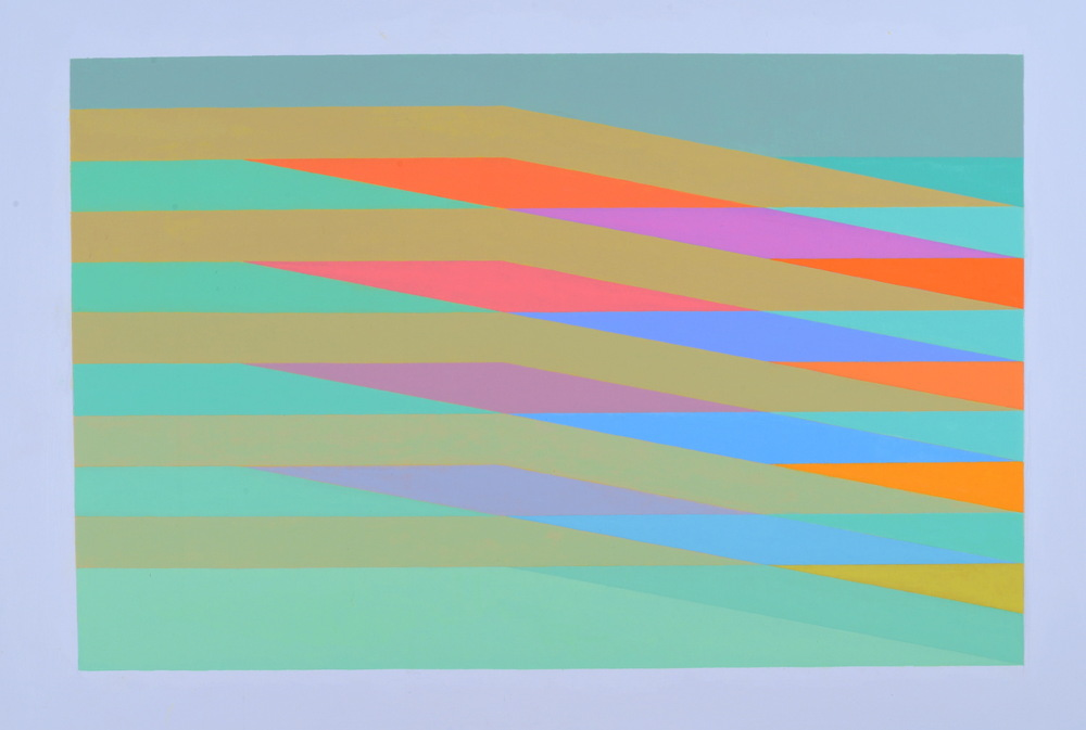 MARTIN V SMITH - Rippling Green 920x650 & Limited Edition Signed Giclee prints