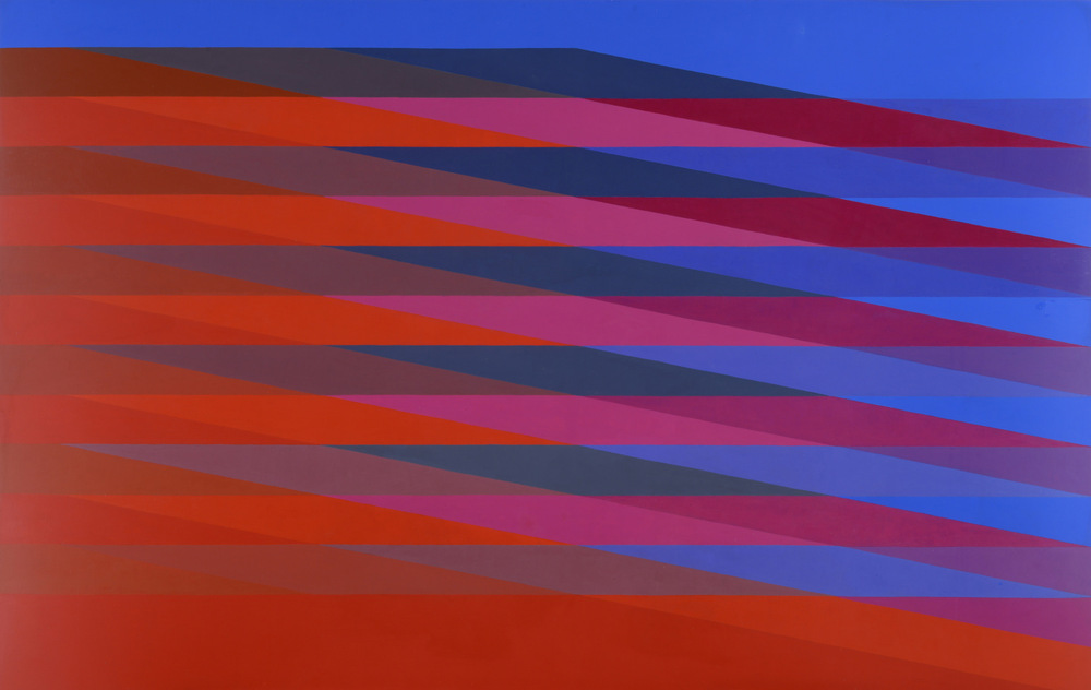 MARTIN V SMITH - Transparencies Red 163.5 x 104