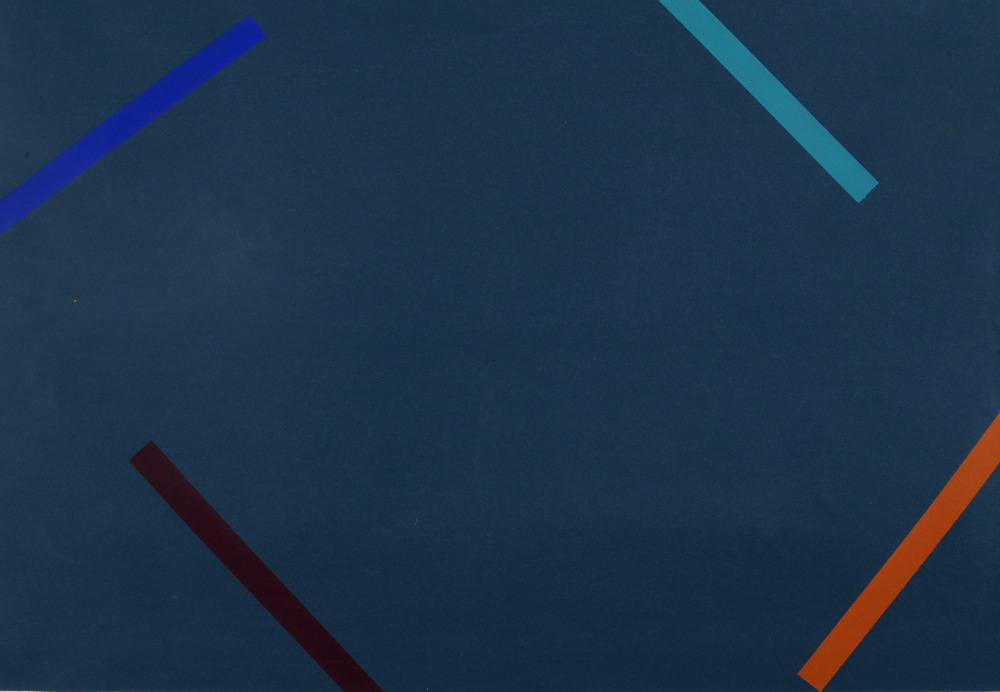 MARTIN V SMITH - GAZE screenprint 58.7 x 45